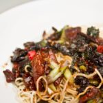 crispy chilli beef stir fry - All That I'm Eating