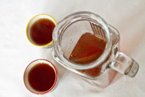 spices in the tea