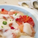 Citrus Carpaccio with Champagne Sabayon