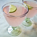 rhubarb rosehip and lime fizz