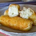 feta and mint potato croquettes