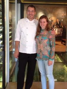 Daniel Galmiche and Caroline Taylor at The Vineyard