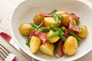 new potato green bean and iberica ham salad allthatimeating (3 of 5)