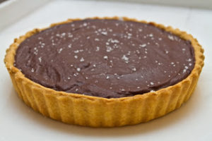 Millionaire's Tart with Salted Chocolate - All That I'm Eating