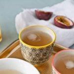 passion fruit and jasmine iced tea
