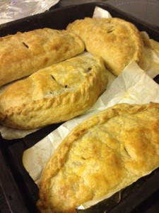 Homemade Cornish Pasties