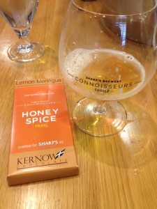 Sharp's Connoisseurs Honey Spice Beer with White Chocolate
