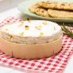 Baked Vacherin Mont D'or with Rosemary Flatbreads