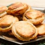 mince pies with orange