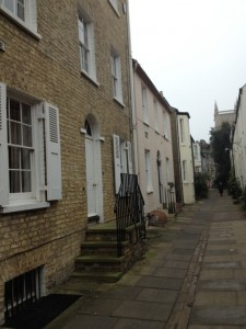 Cambridge Cobbled Street