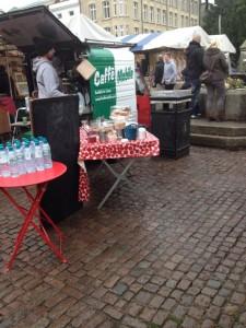 Coffee Van at Cambridge Market