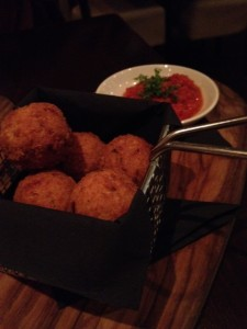 De Luca Garlic Bread Balls Cambridge