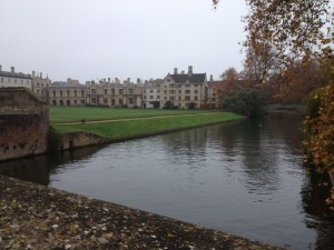 View of Cambridge Colleges from the River Cam