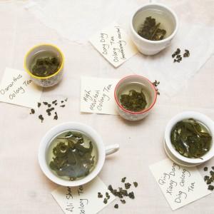 Taiwanese tea varieties