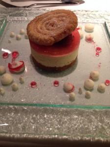vanilla partfait at The Walmesley