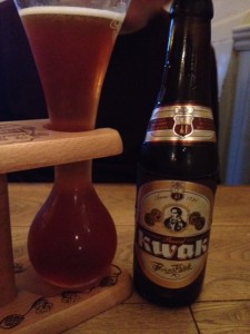 Kwak beer in hungerford