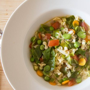Summer Vegetable Minestrone - All That I'm Eating (1 of 2)