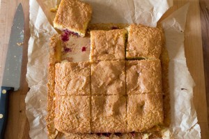 White Chocolate and Blackcurrant Blondies - All That I'm Eating (3 of 3)