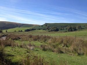 View near the Elan valley