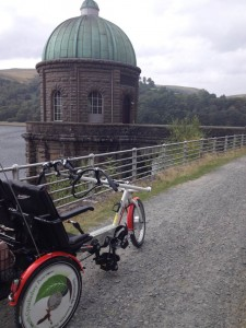 A trip to Wales - take a bike around Elan valley