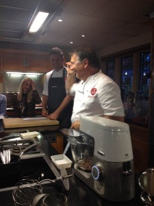 Raymond Blanc at Le Manoir cookery school