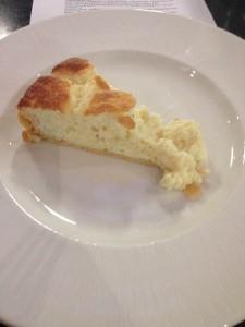 Cheese souflee
