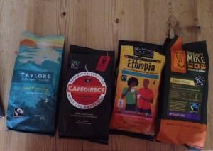 Faritrade coffee