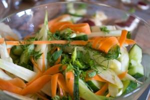 Swedish style salad