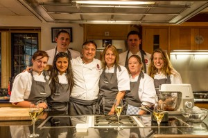 Cookery school team at Le Manoir