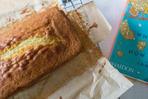 Buttermilk pound cake from What to Bake book