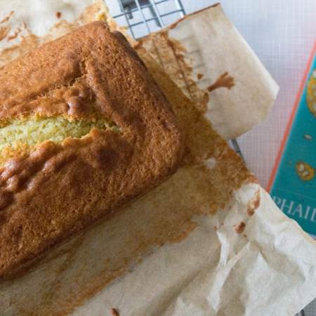 Buttermilk poundcake from What to Bake book