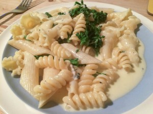 Blue Cheese Broccoli Pasta - All That I'm Eating (2 of 3)