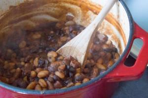 Smoky Cowboy Beans
