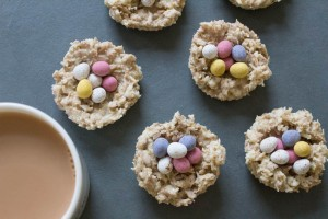 White Chocolate Easter Nests - All That I'm Eating (1 of 3)