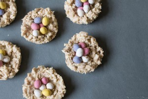 White Chocolate Easter Nests - All That I'm Eating (2 of 3)