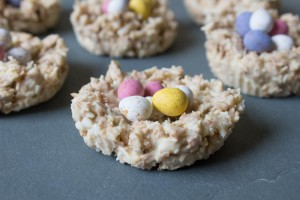 White Chocolate Easter Nests - All That I'm Eating (3 of 3)
