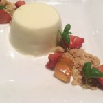 The Dundas Arms Kintbury panna cotta
