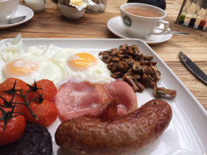 The Maytime Inn English Breakfast