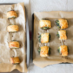 Vegetarian Sausage Rolls finished