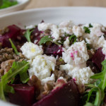 Beetroot, Lentil and Bergamot Lemon Salad