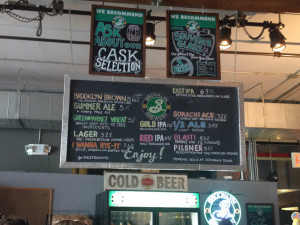 Brooklyn Brewery Bar