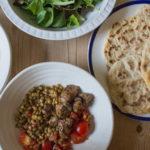 Lamb, Lentils and Flatbreads
