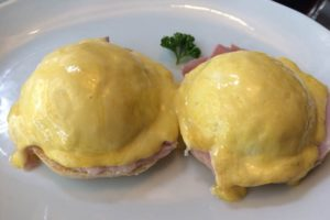 Stop the World Cafe - eggs benedict