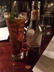 The Pipe of Port Southend - drinks