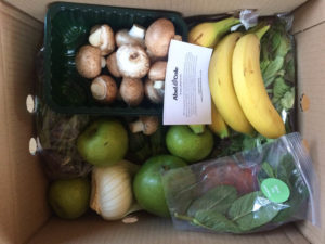 Eating Organic on a Budget - veg box