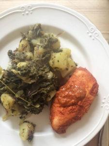 It's All Easy Cook Book - tikka masala roast chicken