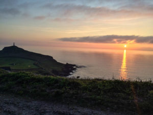 North Cornwall Coast Road Trip - Cape Cornwall Sunset