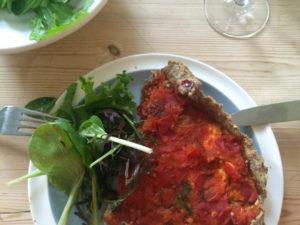 Riverford Sarah Raven Recipe Box - Tomato Tart