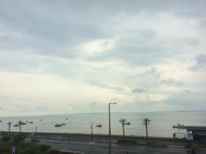 A Weekend in Southend - The Roslin Hotel room view