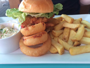 Coastal Bite, Westcliff-on-Sea - chicken burger